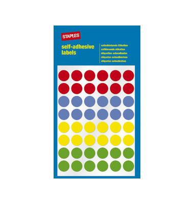Markierungspunkte farbig sortiert Ø 12mm 288 Stück