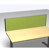 Schreibtischteiler Formfac 4 Basic FF4 RATK 0480 2000 BX STA80 grün rechteckig 200x48 cm (BxH)