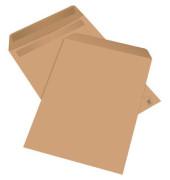 Versandtaschen C4 ohne Fenster selbstklebend 100g braun 50 Stück