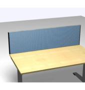 Schreibtischteiler Formfac 4 Basic FF4 RATK 0480 1600 BX STF47 hellblau rechteckig 160x48 cm (BxH)