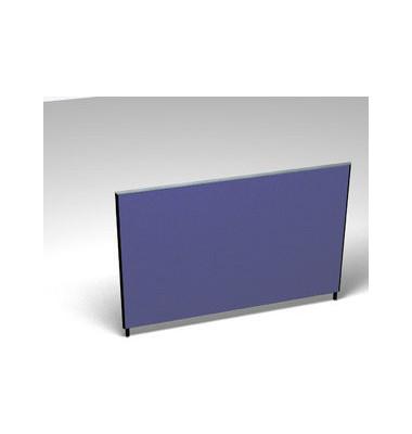 Großraumbüroteiler Basic Formfac4 blau H:120 B:180