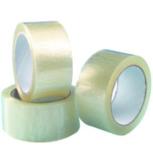 Packband 50mm x 66m transparent PP 6 Rollen
