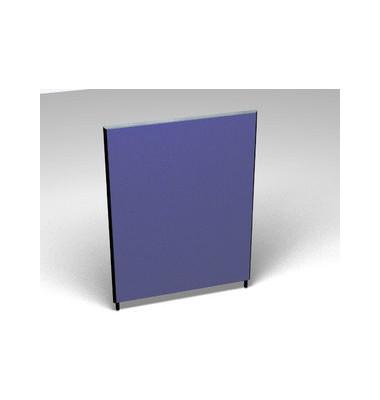 Großraumbüroteiler Accoust.Formfac4 blau H:160 B:120