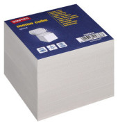 Notizwürfel 90 x 90 x 69mm grau geleimt 800 Blatt