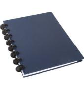 Spiralbuch ARC, Kunststoff, liniert, A5, Einbandfarbe: blau, 60 Blatt