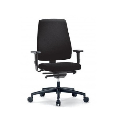 interstuhl goal b rodrehstuhl mit armlehnen schwarz frei verwendungsstelle. Black Bedroom Furniture Sets. Home Design Ideas