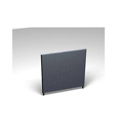 Großraumbüroteiler Basic Formfac4 m.grau H:120 B:120