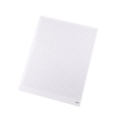 Ringbucheinlage A4 kariert für ARC Spiralbuch weiß 100g 50 Blatt