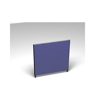 Großraumbüroteiler Basic Formfac4 blau H:120 B:120