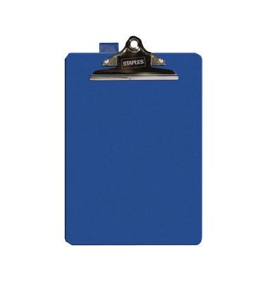 Klemmbrett Klemme kurze Seite blau A4 235x355mm