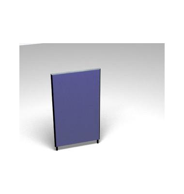 Großraumbüroteiler Accoust.Formfac4 blau H:140 B:80