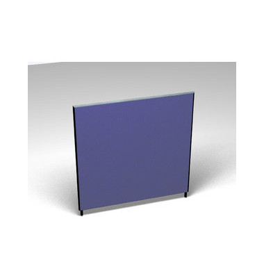 Großraumbüroteiler Accoust.Formfac4 blau H:140 B:140