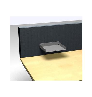 Briefablageelement A4 / C4 quer weißaluminium