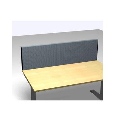 Schreibtischteiler Formfac 4 Basic FF4 RATK 0480 1800 BX STF44 grau rechteckig 180x48 cm (BxH)