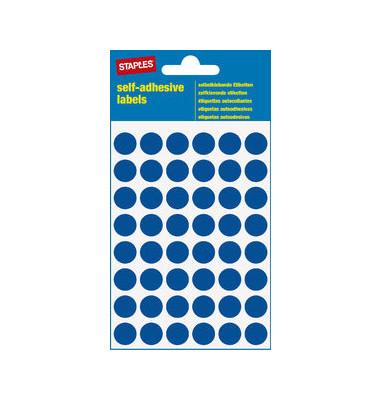 Markierungspunkte blau Ø 12mm 240 Stück