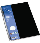 Collegeblock Poly Premium A4 weiß liniert gelocht 80 Blatt