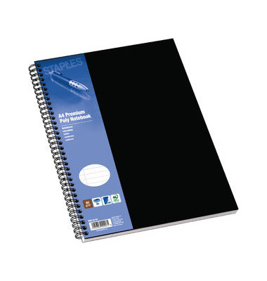 Collegeblock Poly Notebook 5564291, A4 liniert, 80g 80 Blatt, 4-fach-Lochung