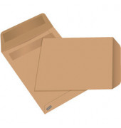 Versandtaschen C5 ohne Fenster selbstklebend 80g braun 50 Stück