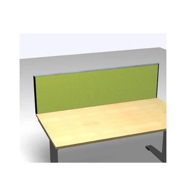 Schreibtischteiler Formfac 4 Basic FF4 RATK 0480 1800 BX STA80 grün rechteckig 180x48 cm (BxH)
