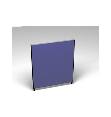 Großraumbüroteiler Accoust.Formfac4 blau H:140 B:120