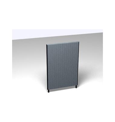 Großraumbüroteiler Basic Formfac4 m.grau H:120 B:80