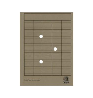 Umlaufmappe A4 RC-Karton grau A4