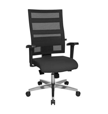 Bürodrehstuhl X-Pander mit Armlehnen schwarz  959TT200