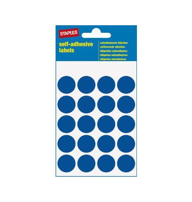 Markierungspunkte blau Ø 19mm 100 Stück