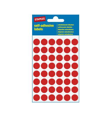 Markierungspunkte rot Ø 12mm 240 Stück