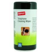 Reinigungstücher feucht für Telefone Spenderdose 100 Tücher