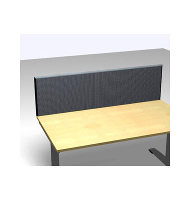 Schreibtischteiler Formfac 4 Acoustic FF4 RATK 0480 2000 AX STF45 grau rechteckig 200x48 cm (BxH)