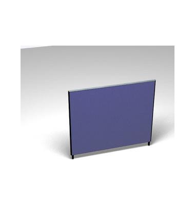 Großraumbüroteiler Basic Formfac4 blau H:120 B:140