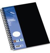 Collegeblock Poly Premium A5 weiß liniert gelocht 80 Blatt