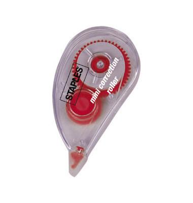 Korrekturroller Mini 5mm x 6m weiß