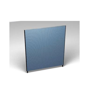 Großraumbüroteiler Basic Formfac4 aqua H:160 B:140