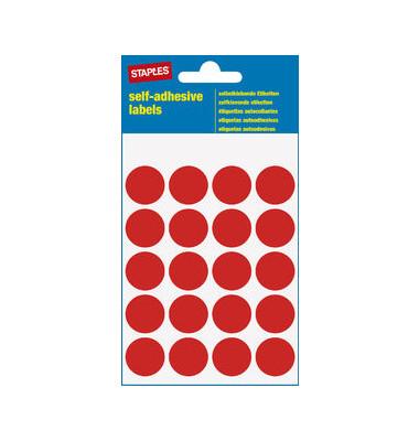 Markierungspunkte rot Ø 19mm 100 Stück