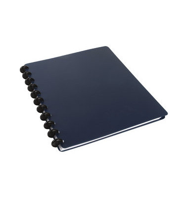 Spiralbuch ARC PP befüllbar blau A4 60 Bl