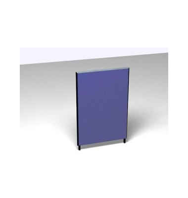 Großraumbüroteiler Accoust.Formfac4 blau H:120 B:80