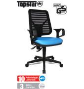 Bürodrehstuhl Artwork 10 PK mit Armlehnen blau