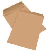 Versandtaschen B5 ohne Fenster selbstklebend 90g braun 500 Stück