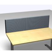 Schreibtischteiler Formfac 4 Acoustic FF4 RATK 0480 1600 AX STF44 grau rechteckig 160x48 cm (BxH)