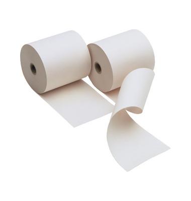Kassenrollen 57mm x 40m x 12mm weiß 5er Pack