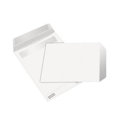 Versandtaschen C5 ohne Fenster selbstklebend 80g weiß 500 Stück