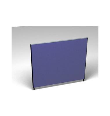Großraumbüroteiler Basic Formfac4 blau H:140 B:160