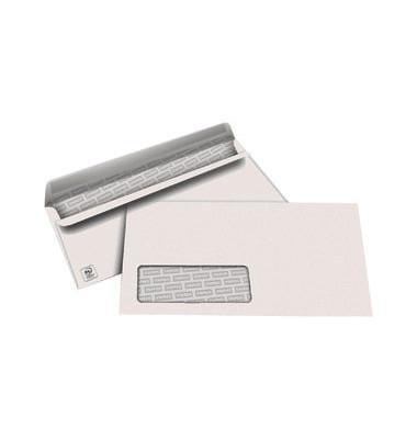 Briefumschläge Din Lang mit Fenster selbstklebend 80g weiß 500 Stück