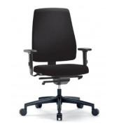 Bürodrehstuhl Goal mit Armlehnen schwarz (Montage)