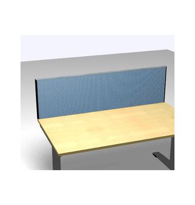 Schreibtischteiler Formfac 4 Basic FF4 RATK 0480 2000 BX STF47 blau rechteckig 200x48 cm (BxH)