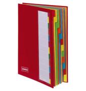 Deskorganizer 12-teilig rot 238x330x15mm