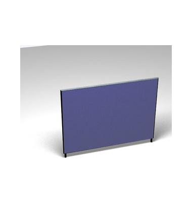 Großraumbüroteiler Basic Formfac4 blau H:120 B:160
