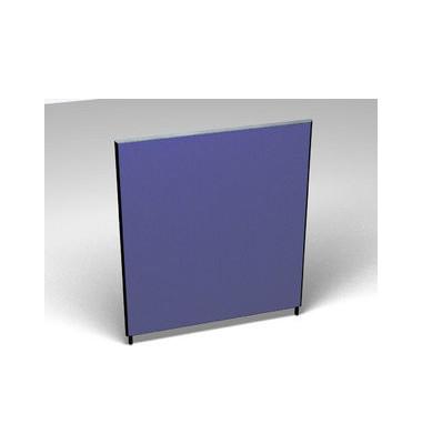 Großraumbüroteiler Basic Formfac4 blau H:160 B:140
